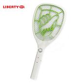 《LIBERTY利百代》大網面外接充電式電蚊拍-白 LB-314(1入)