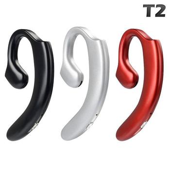 《SOYES》不入耳式超輕真無線單耳藍牙耳機T2(公司貨)(黑色)