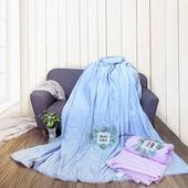 《Victoria》3M涼感超柔夏季雙人加大涼被(兩款可選)(藍色200x230cm)