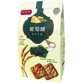 《膳體家》起司燒海苔岩鹽生機餅(250g/包)