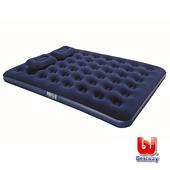 《Bestway》雙人絨面露營充氣床附枕 67374健身休閒用品53折起