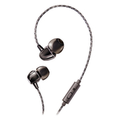 《THOMSON》精密陶瓷耳機 TM-TAEH05M(金屬黑)