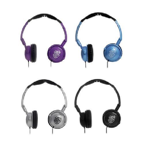 《三洋》立體聲頭戴折疊耳機 ERP-H23(黑/銀/藍/紫 顏色隨機出貨)