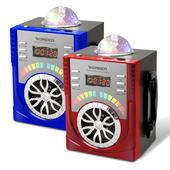 《WONDER》舞台燈光隨身音響 WS-P009(紅/藍 顏色隨機出貨)