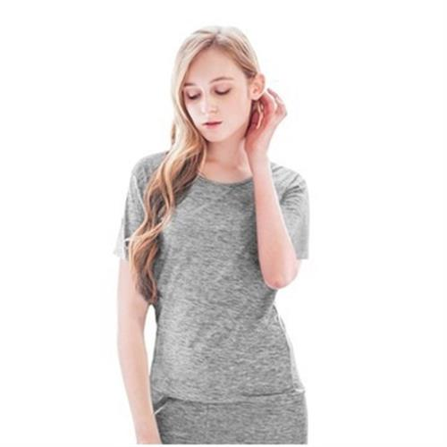 《SanSheng》女陽離子舒適短袖衫(顏色隨機出貨)(M)