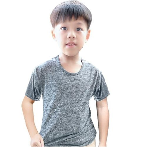 《SanSheng》童陽離子舒適短袖衫(顏色隨機出貨)(120cm)