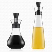 防漏油玻璃調味瓶250ml