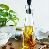 防漏油玻璃調味瓶(500ml - 28X7.5cm)