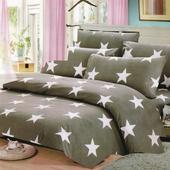 《台灣製》舒柔絨床包組 花色隨機出貨(三件式 雙人 尺寸152X188cm±2%)