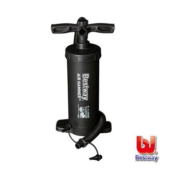 《Bestway》直立手壓充氣幫浦/打氣筒 62086健身休閒用品53折起