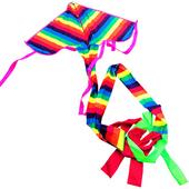 《艾可兒》MIT台灣製造-特大彩虹長尾風箏