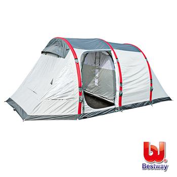 《艾可兒》Bestway四人遮雨隧道式帳篷