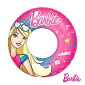 《艾可兒》Barbie芭比娃娃充氣泳圈