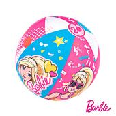《艾可兒》Barbie芭比娃娃充氣沙灘球