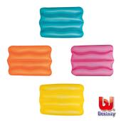 《艾可兒》Bestway。充氣波浪枕-粉紅色/橙色/黃色/綠色(隨機出色)