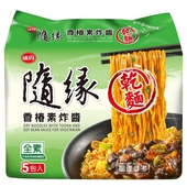 《隨緣》乾麵-84g*5/組(香椿素炸醬)