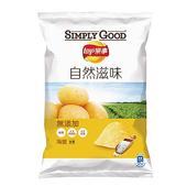 《樂事》SIMPLY GOOD(海鹽-81g/包)