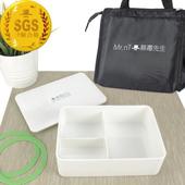 《Mr.nT 無毒先生》安心無毒耐熱餐盒保溫袋組(套)