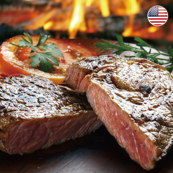 《欣明生鮮》美國安格斯嫩肩沙朗牛排~比臉大(600公克±10% /1片)(*3包)