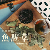 《日常野草》靜心明朗 魚腥草青草茶(5gX10包/盒)(1盒)