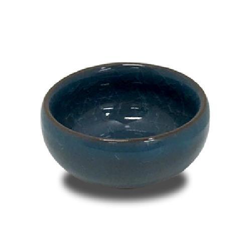 冰裂品茗杯(水藍)