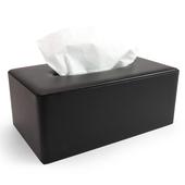 《Novella Amante》皮質紙巾盒(風尚黑)