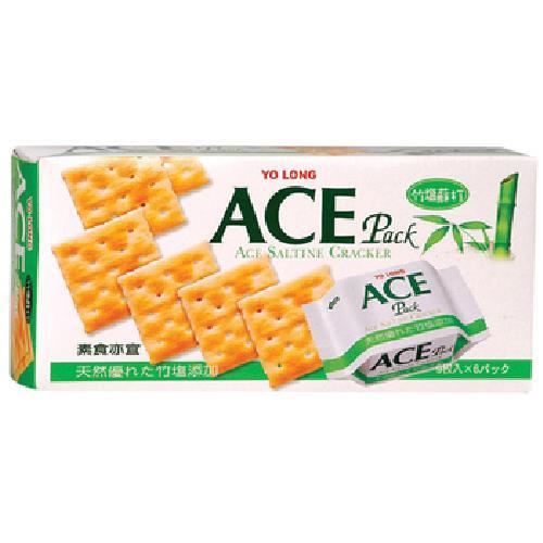 《優龍 ACE》竹鹽蘇打餅乾(149g/盒)