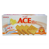 《優龍 ACE》起司夾心餅(125g/盒)