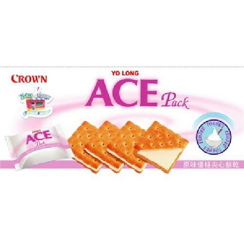 《優龍 ACE》夾心餅乾(優格-125g/盒)