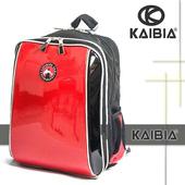 《KAIBIA》KAIBIA -人體工學護脊書包KD-AB107B-亮面磚紅(KD-AB107B-亮面磚紅)