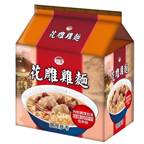《台酒TTL》花雕雞袋麵(200g*3入/袋)