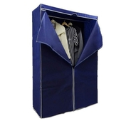 《Lincon》三層大衣櫥架組(贈防塵套-顏色隨機)(120x45x180cm/I-L-WA206)