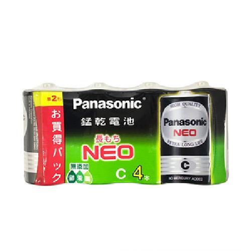 《Panasonic》碳鋅電池2號4入