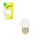 《FP》LED圓形燈泡-黃光(1.5W/E27/1入)