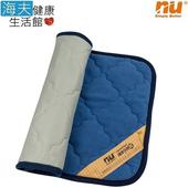 《海夫健康生活館》NU 恩悠數位 舒眠健康能量雙面枕墊(75x45cm)