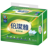 《倍潔雅》抽取式衛生紙(100抽24包)