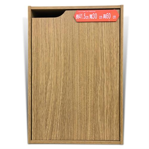 《FP》系統E1二格一門櫃 原木紋色(W41.5*D30*H60CM / ST-102D)