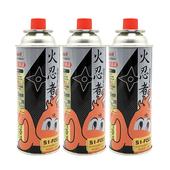 《火忍者》雙安控卡式瓦斯罐 S1-F0023入/組 $105