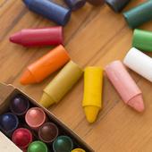 純天然蜂蠟無毒蠟筆-寶寶適用(1歲+)胖短款(共12色)