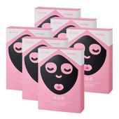 《台塑生醫Dr's Formula》激白無瑕女神光黑面膜(7片/盒)*6盒入