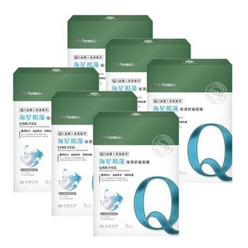 《台塑生醫Dr's Formula》海星褐藻保濕舒緩面膜(5片裝)*6盒入