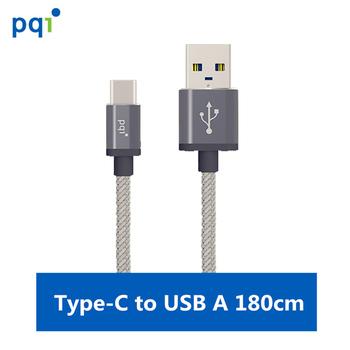 《PQI》PQI C-Cable Type C to A 180cm 金屬編織線
