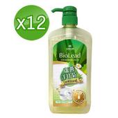 《台塑生醫BioLead》蘆薈洋甘菊碗盤洗潔精1000g (12瓶/組)