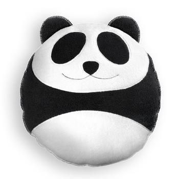 《德國 Leschi》熊貓造型靠枕(大)送法國LADYS SECRET 女用足部保護舒適透氣局部防磨貼