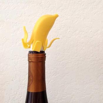 《美國 Fred》可愛香蕉酒瓶塞