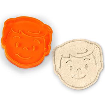 《美國 Fred》Bread Head 麵包轉印造型模具