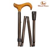 《英國 Classic Canes》可摺疊收納+調整高低手杖-4601(粗款)