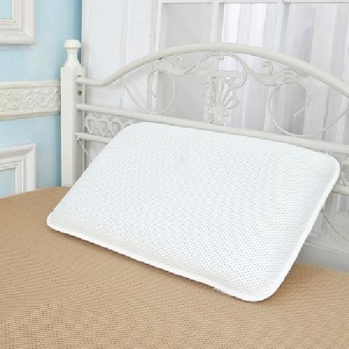 《3D透氣》可調式 水洗枕頭 7片芯 60x40x10cm(白色)