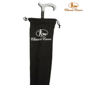 《英國 Classic Canes》直立式權杖/手杖收納防塵袋 4101-黑色