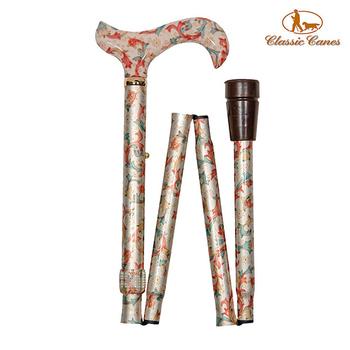 《英國 Classic Canes》可摺疊收納+調整高低手杖-5003B(粗款)